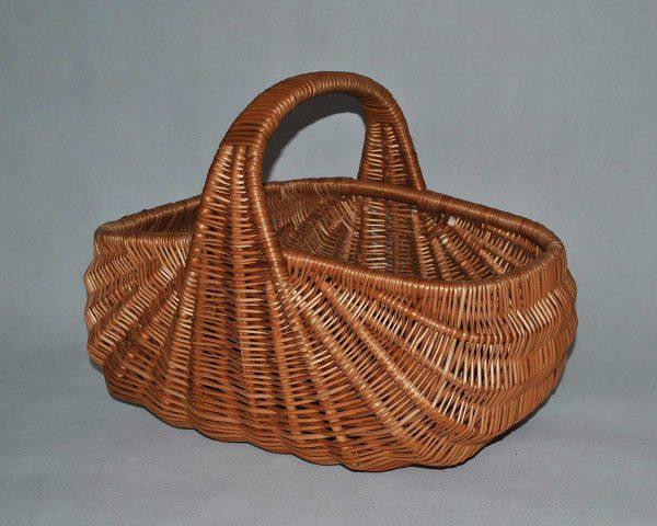 Koszyk wiklinowy na zakupy piknik grzyby prezent z wikliny kosz wiklina 04