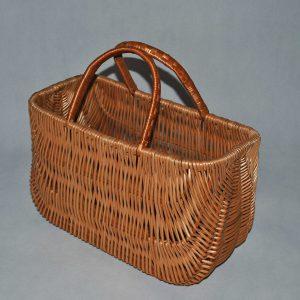 Wiklinowy kosz na grzyby piknik prezent zakupowy koszyk z wikliny wiklina zakupy 05